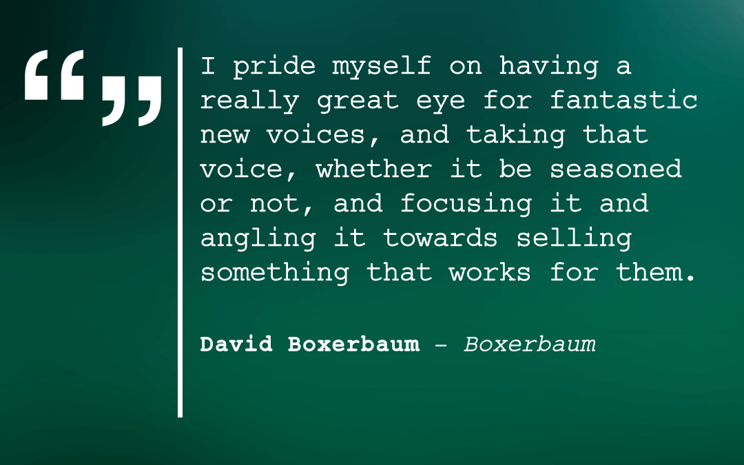 David Boxerbaum on the Business of Screenwriting