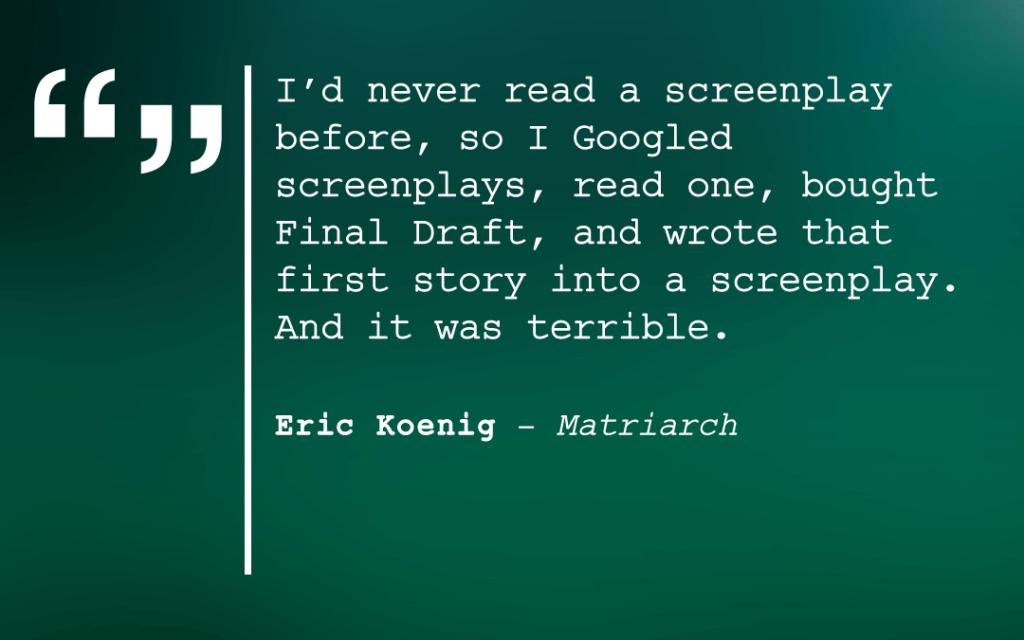 Eric Koenig Quote