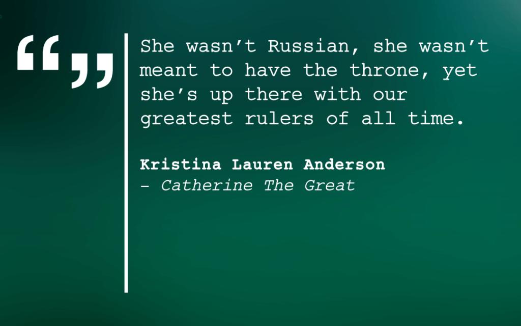 Kristina Lauren Anderson Quote