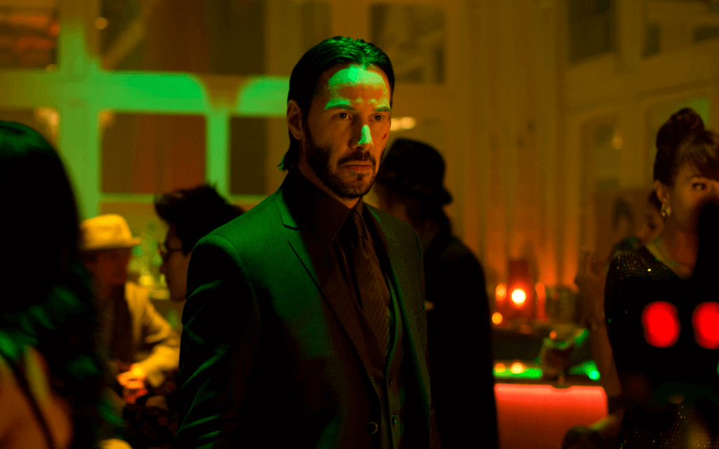 Keanu Reeves John Wick 2 Movie