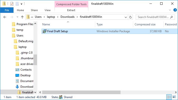 Install Final Draft 10 | Windows | Final Draft®