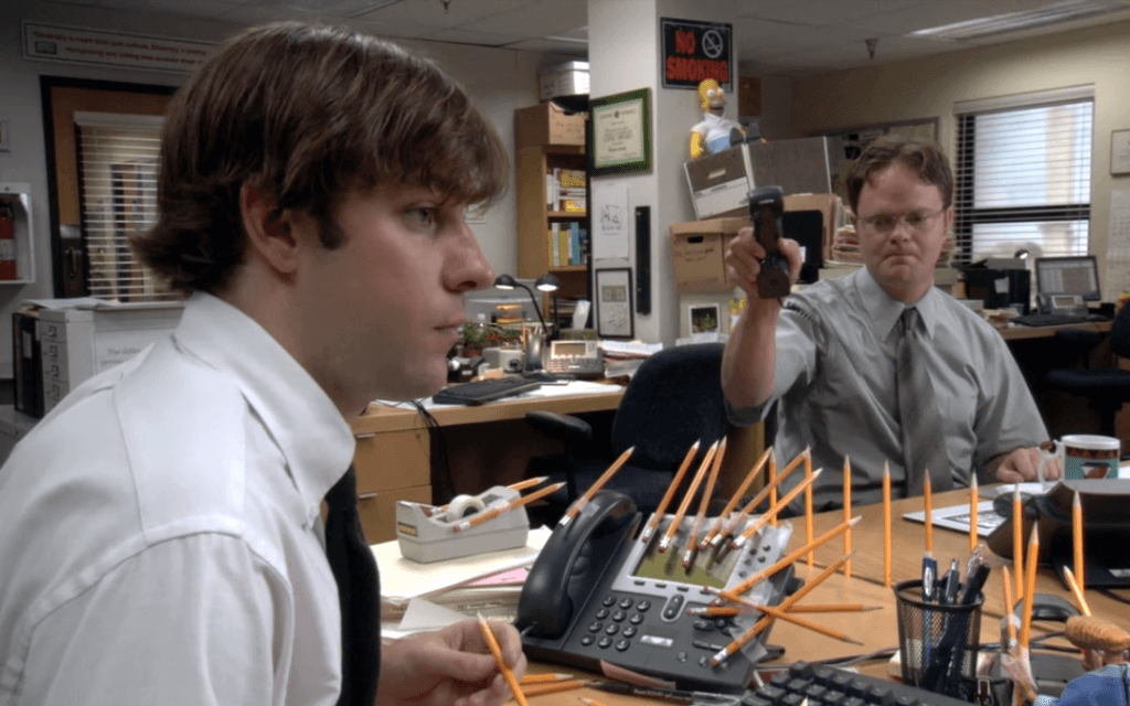 Jim and Dwight The Office TV Series