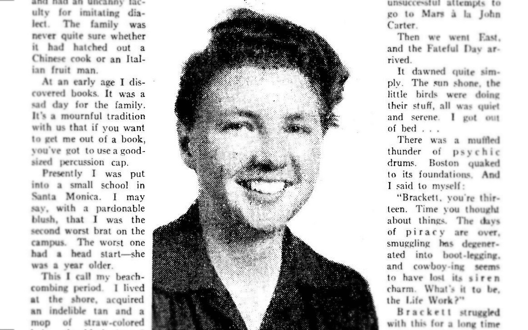 Screenwriting Role Models: Leigh Brackett