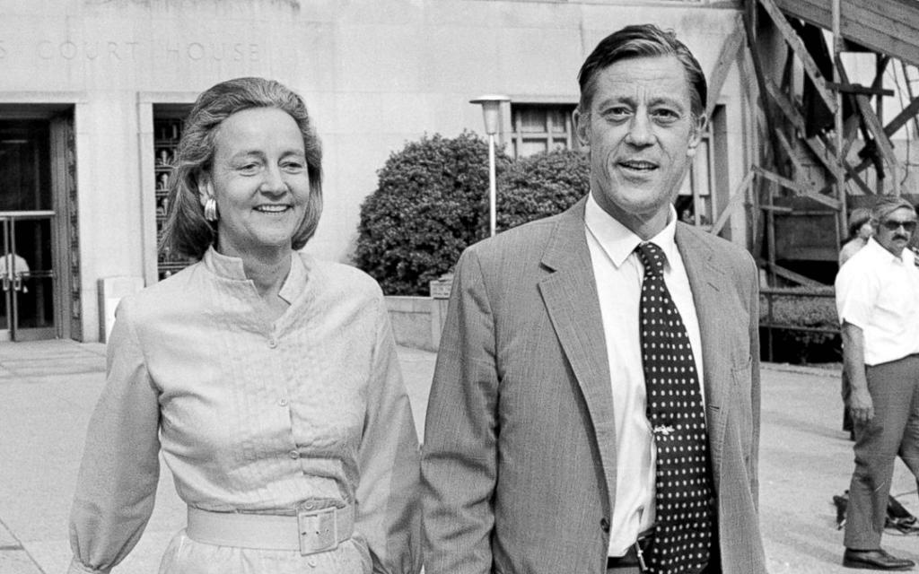 Katherine Graham and Ben Bradley
