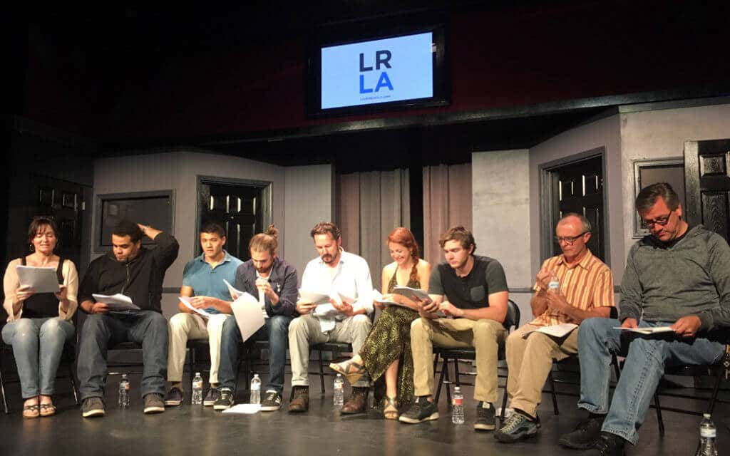 Live Read LA Actors Sit in Chairs and Read From Script