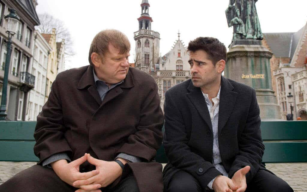Colin Farrell and Brendan Gleeson In Bruges Movie
