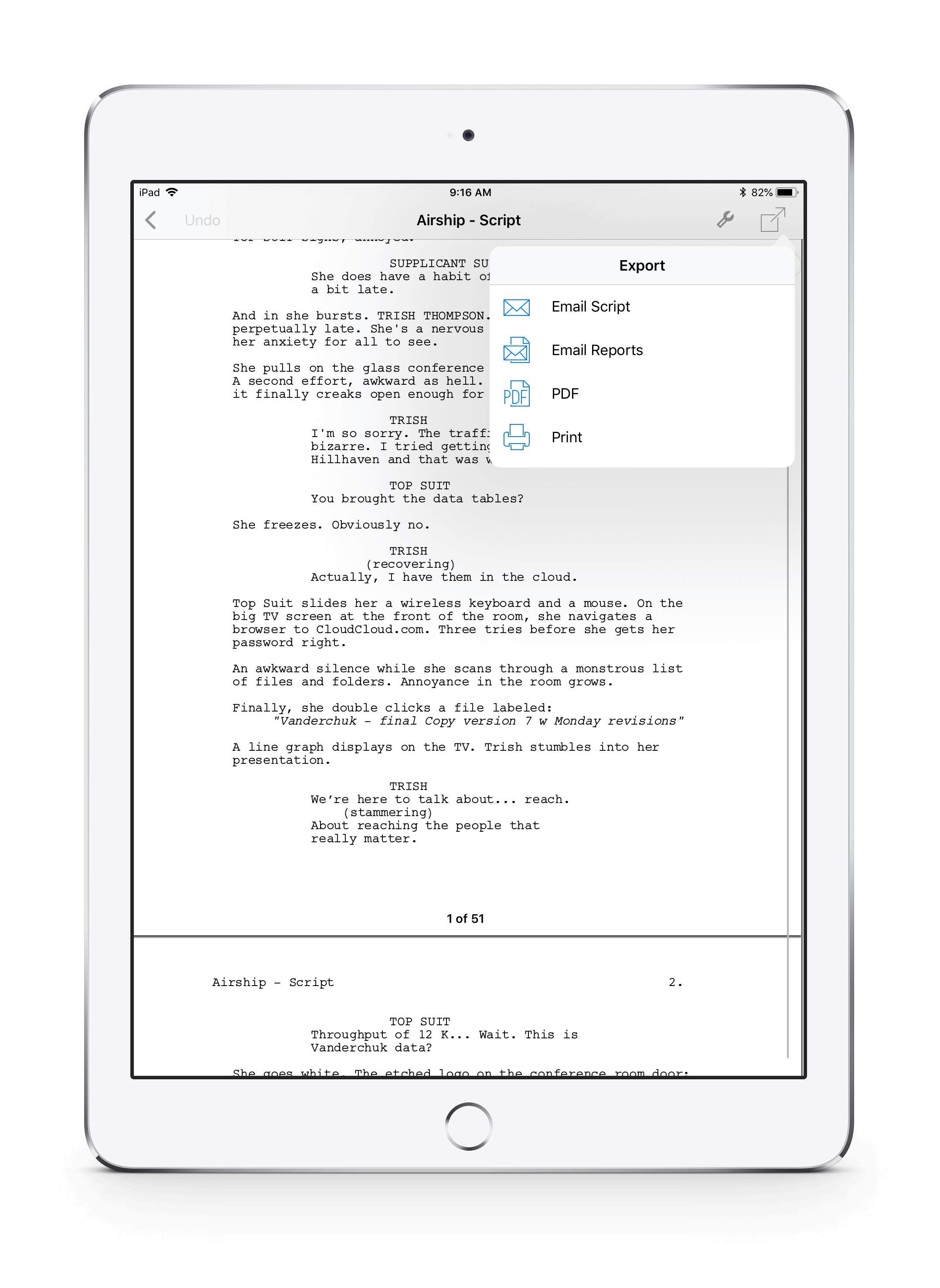 iPhone & iPad Apps | Final Draft®
