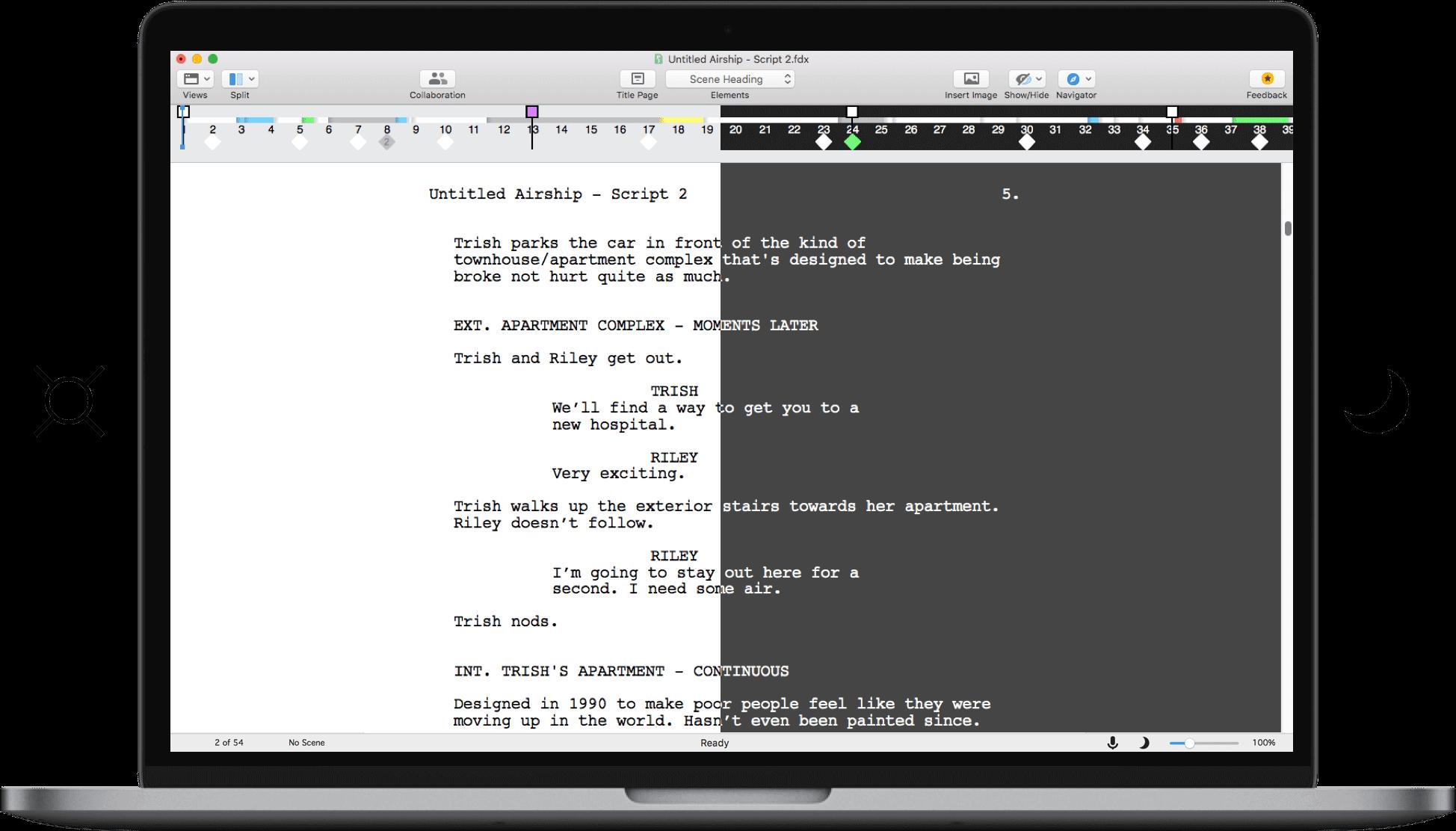 screenwriting software | final draft®